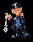 figure, police, funny