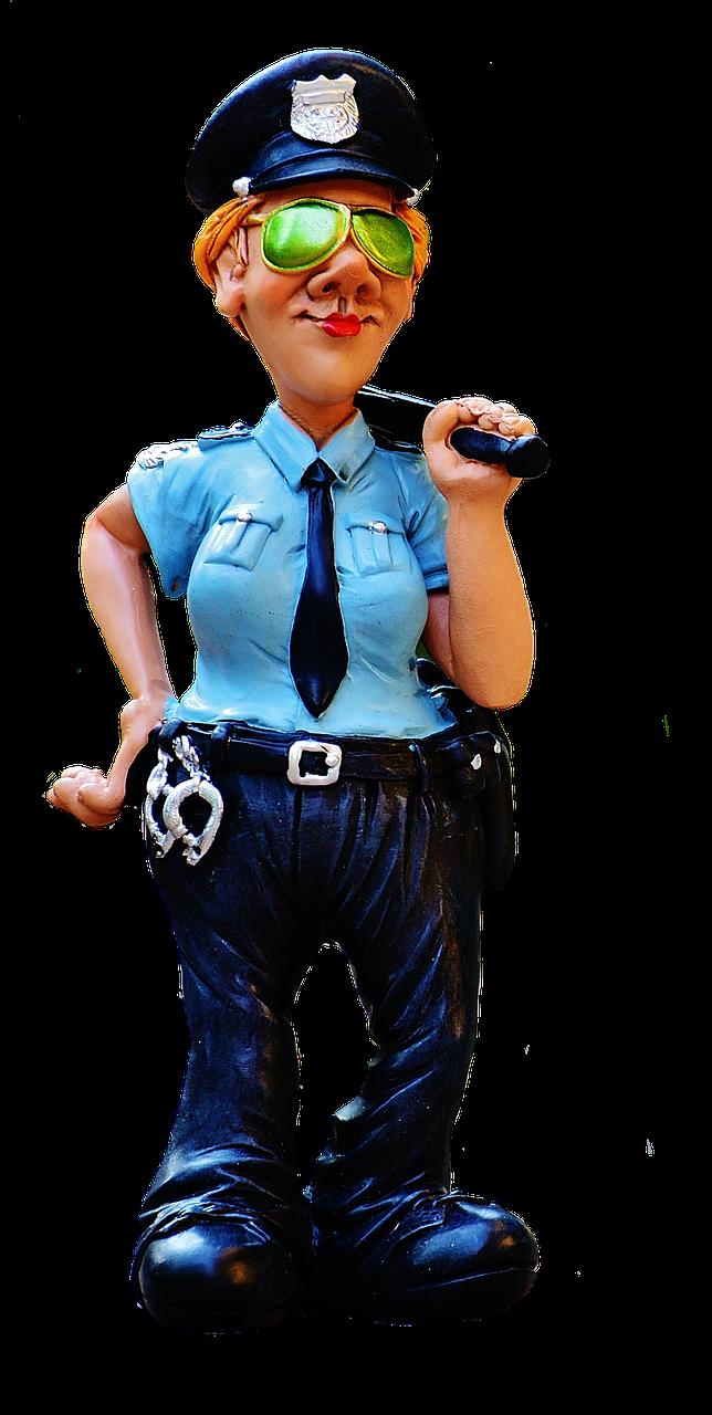 Написать открытке, полицейский картинки смешные