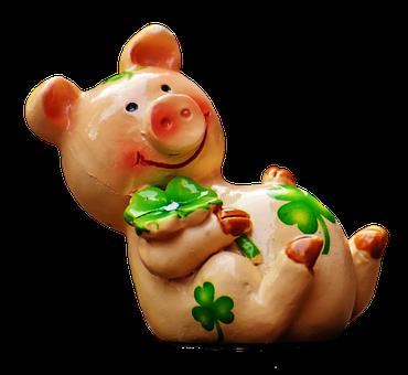 Glücksschweinchen, Glück, Schwein