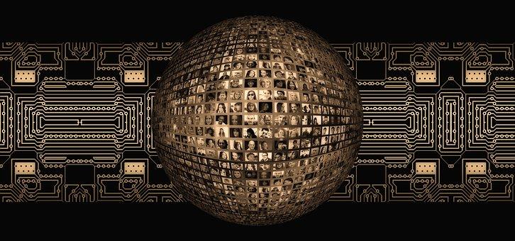 Social Media, Digitalisierung, Gesichter