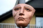 face, mask, head