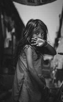 Jeune Fille, Enfant, Portrait, Petits