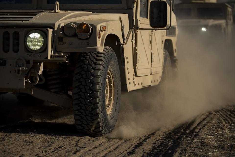 Humvee, americká armáda, armáda Spojených států, armáda, vozidlo