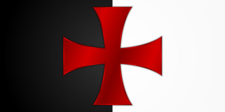 Флаг тамплиеров картинки