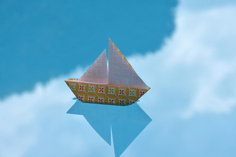 Navire Bateau A Voile Papier Photo Gratuite Sur Pixabay
