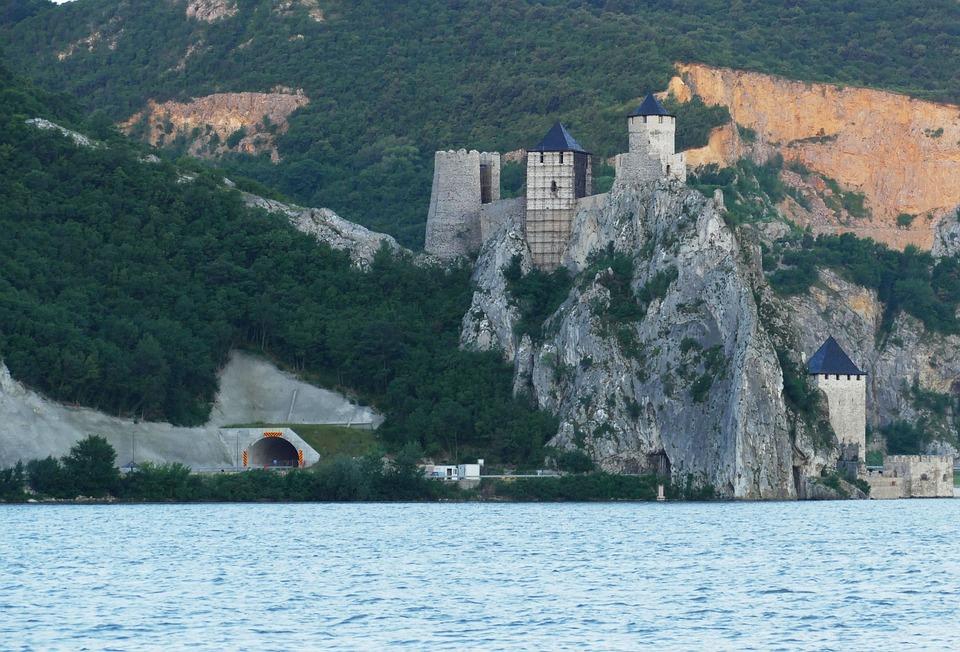 Szerbia, Duna, Sétahajózás, Folyó, Vaskapu Szoros