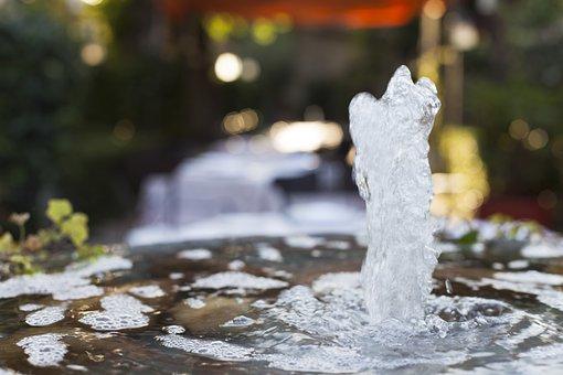 Eau, Source, Jet, Danse Des Fontaines