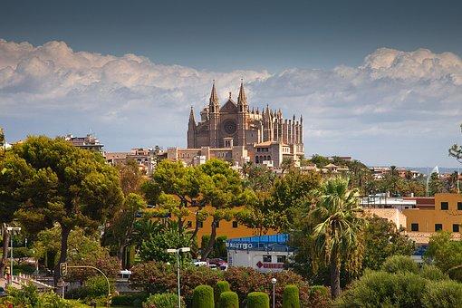 Panorámica de Catedral de Palma de Mallorca