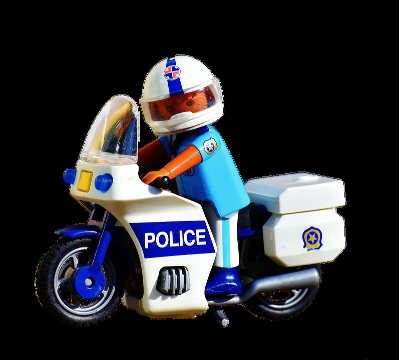 Policji, Motocykl, Policjant, Dwukołowych Pojazdów