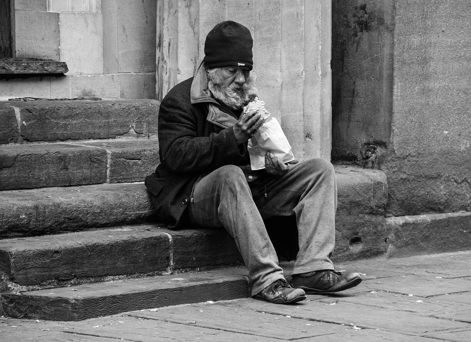 Homeless, Man, Poverty, Poor, Person, Homelessness