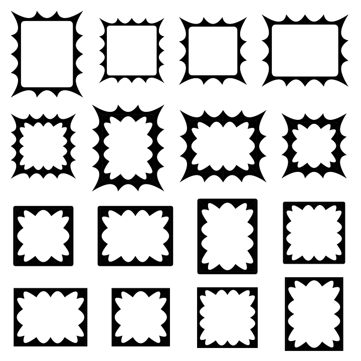Grenze Rahmen Satz · Kostenlose Vektorgrafik auf Pixabay