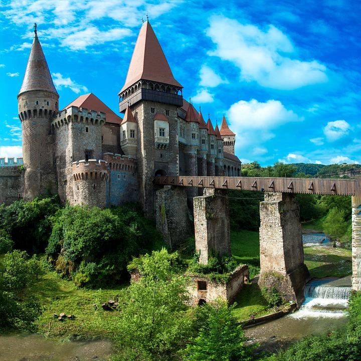 Rumänien, Festung, Burg, Burgwall