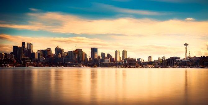 Seattle, Washington, Panorama, City