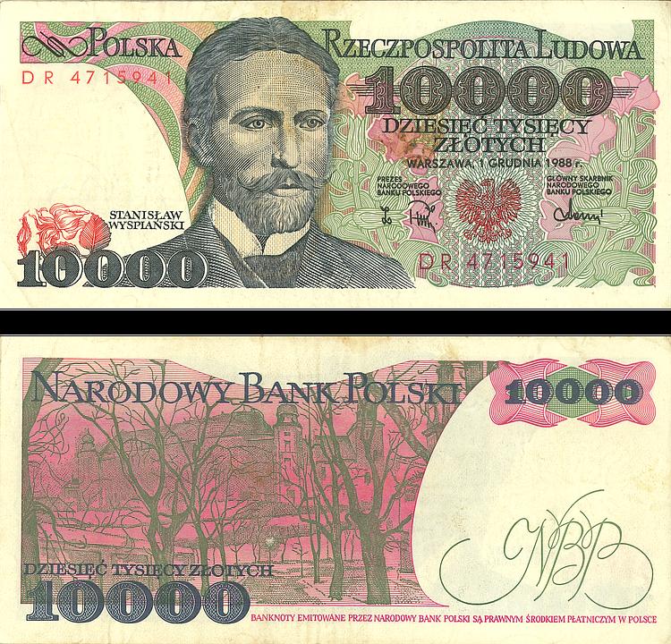 Money, Buck, 10000 Russian Ruble