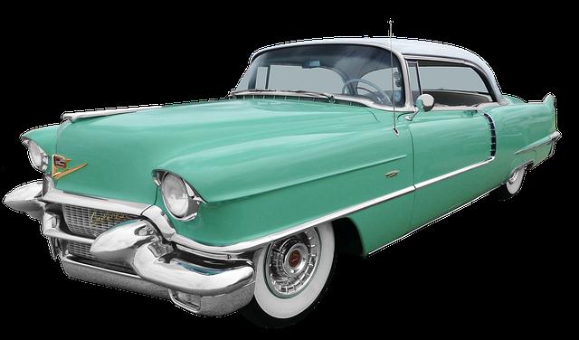 Oldtimer on 1953 Cadillac V8 Engine