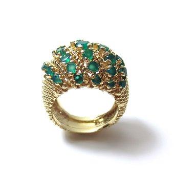 Emerald, Emeralds, Green, Gold