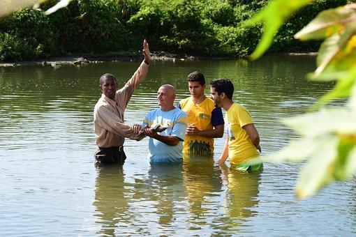 Cuban, River, Baptism, Baptism, Baptism