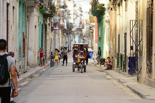Havanna in 3 Tagen - Fahrradtaxi in der Altstadt