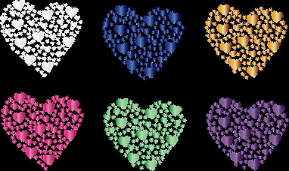 Herz Symbol Farben · Kostenlose Vektorgrafik auf Pixabay