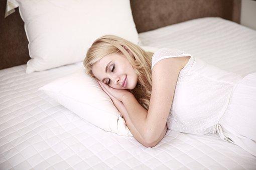 Menschen, Frau, Schlafen