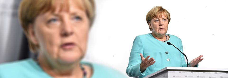 Merkel, Chanceler, Alemanha, Político, Mulher, Cdu