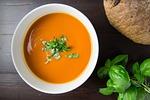 soup, tomato, bowl