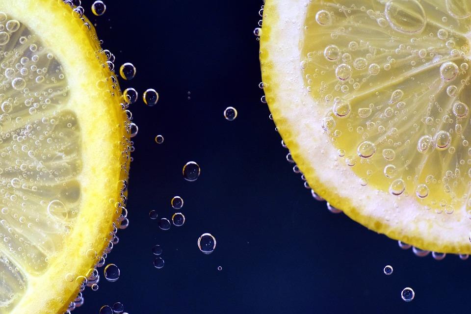 Lemons, Lemonade, Submerged, Lemon Slices, Drink