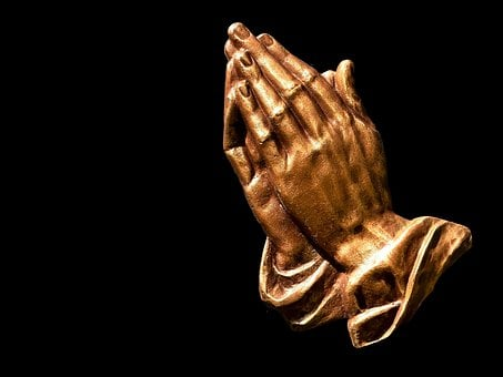 Manos Rezando, Fe, Esperanza, Religión
