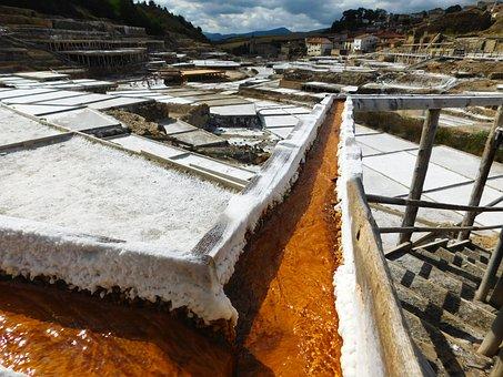 Salt, Mine, Saltworks, Saline, Mineral