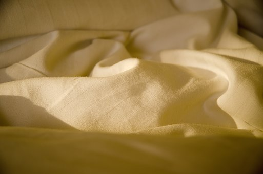 Bed, Sheet, Cloth, Abstract, Interior