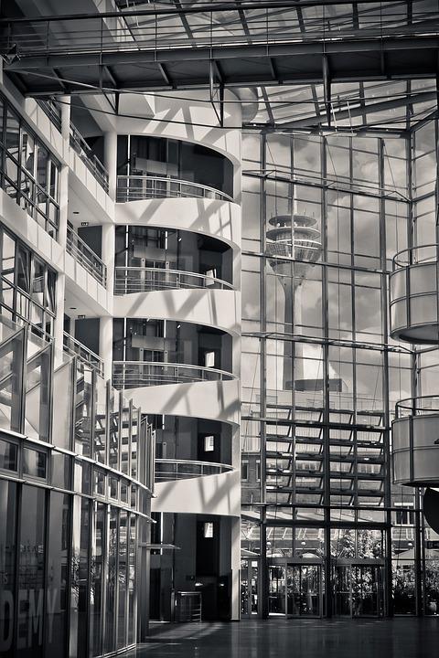 Architektur Innenarchitektur Innen Modern Gebäude