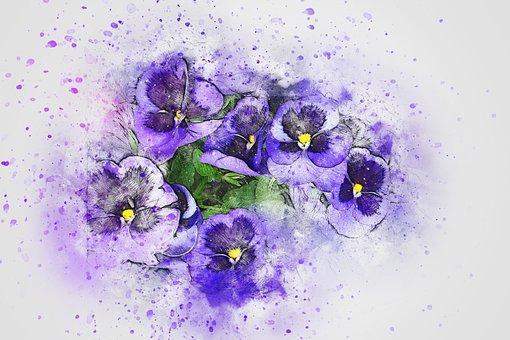 Flower, Bouquet, Art, Abstract