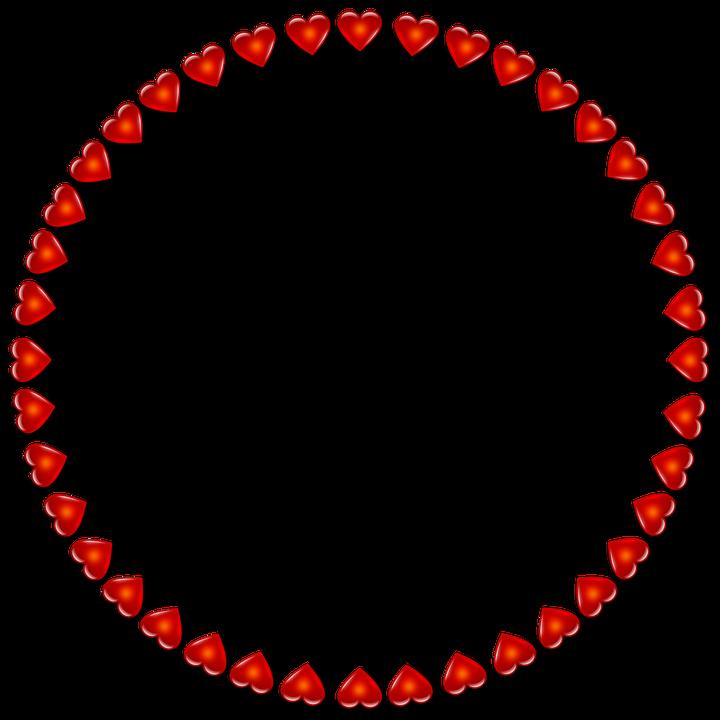 Rahmen Rund Herzen · Kostenloses Bild auf Pixabay