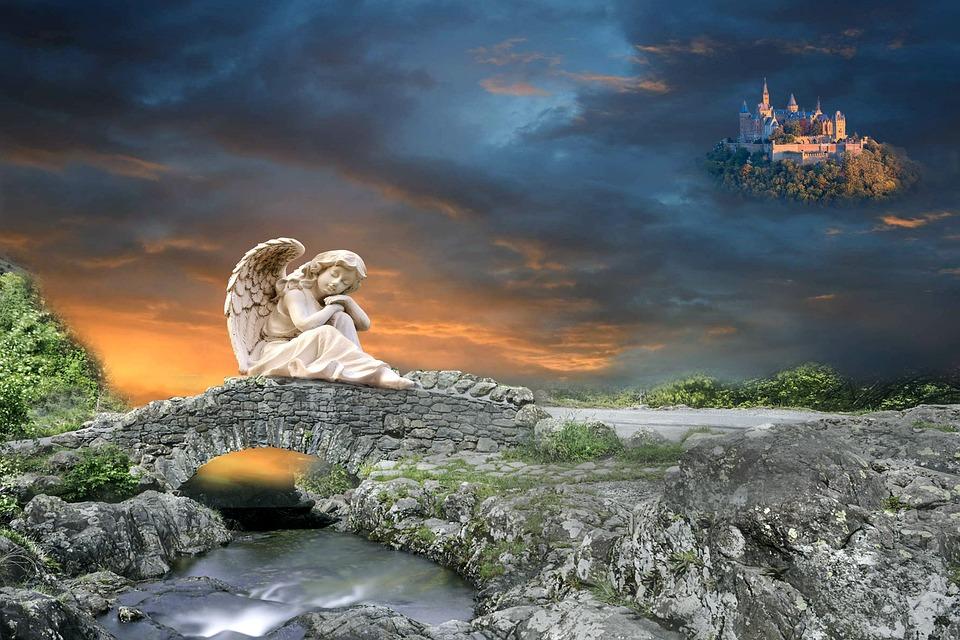 Angel Guardian Bridge Free Photo On Pixabay