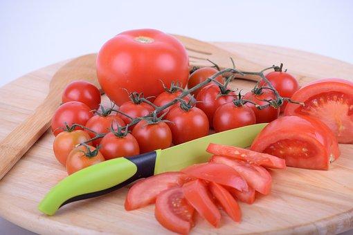 Tomato, Cherry Tomato, Cut Tomato