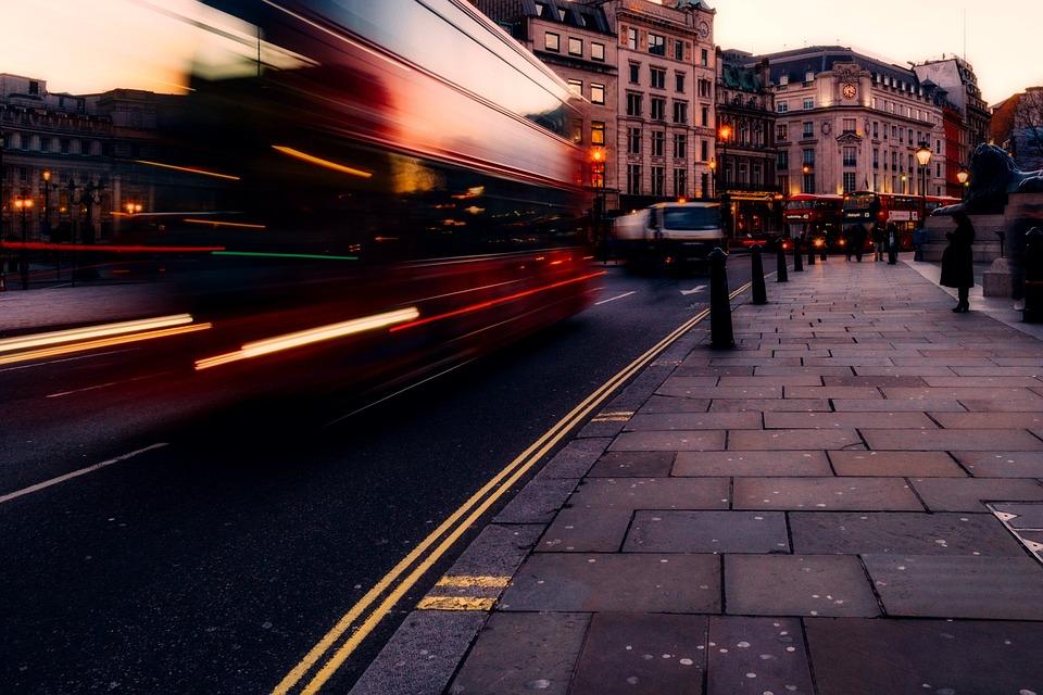 Trafalger Square - London fodbold