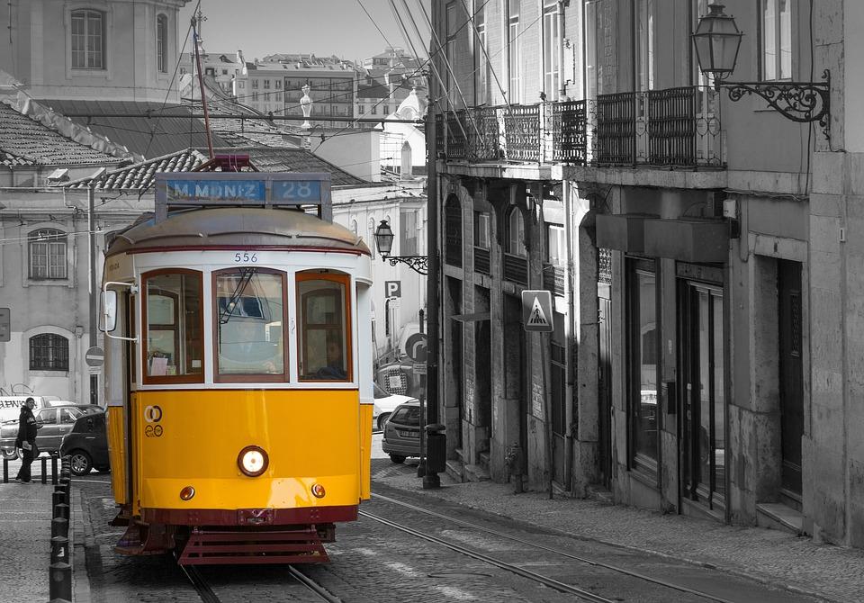 Lissabon, Tram, Historisch