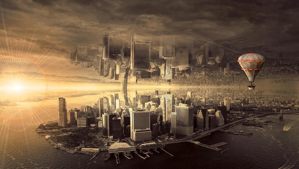 Fantasia, Città, Architettura, Stato D'Animo, Skyline