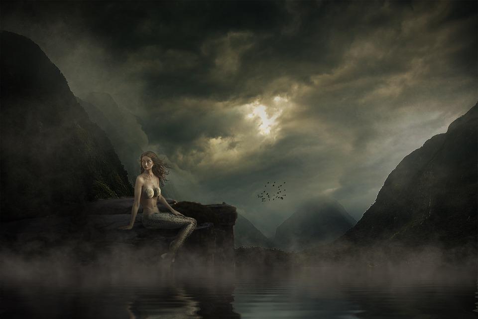 Mermaid Landscape Mood 183 Free Image On Pixabay