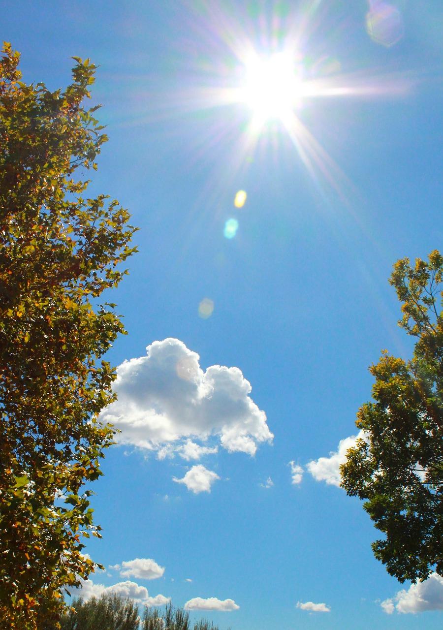 Фото с солнечной погодой