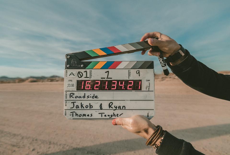 Movie, Director, Clap, Film, Cinema, Camera