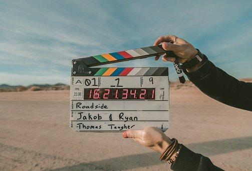 Film, Directeur, Clap, Cinéma