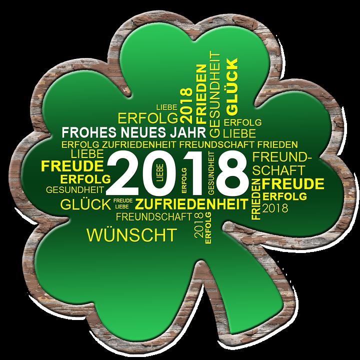 Kleeblatt Neujahr Neues Jahr · Kostenloses Bild auf Pixabay