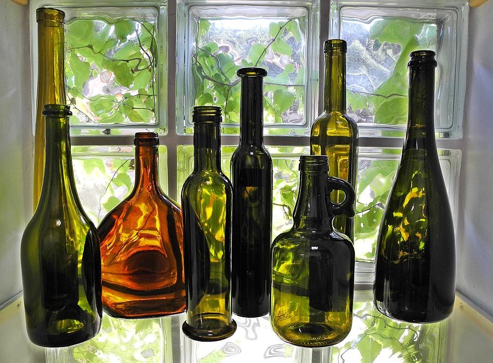 deco bouteille verre deco bouteille verre accessoires. Black Bedroom Furniture Sets. Home Design Ideas