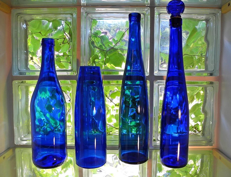 Botella Vidrio Decoracion Foto Gratis En Pixabay - Vidrio-decoracion