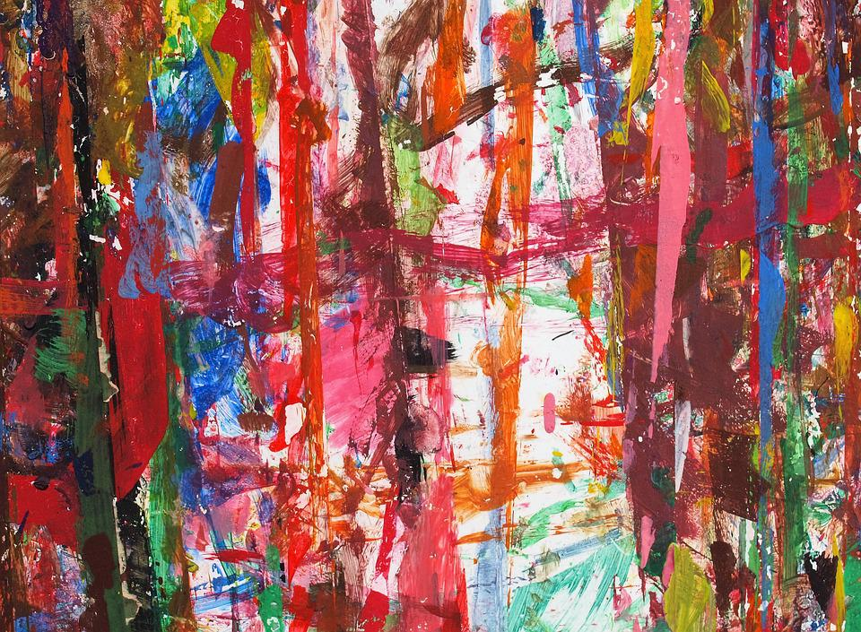 paint childrens art abstract art - Painting For Childrens
