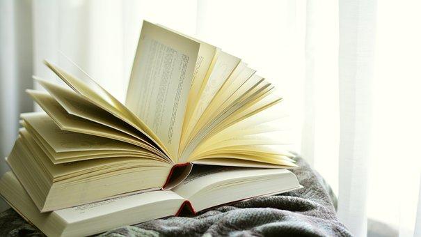 Bücher, Buchseiten, Aufgeschlagen, Lesen