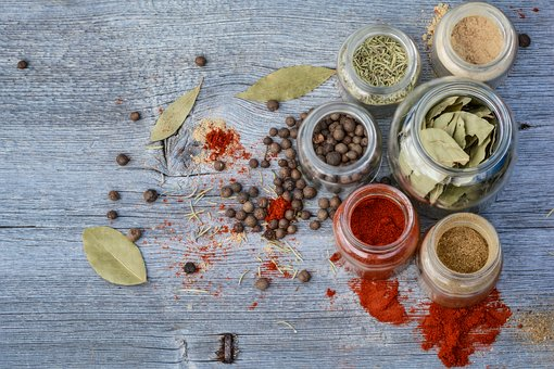 Especias, Tarro, Cocina, Cocinar