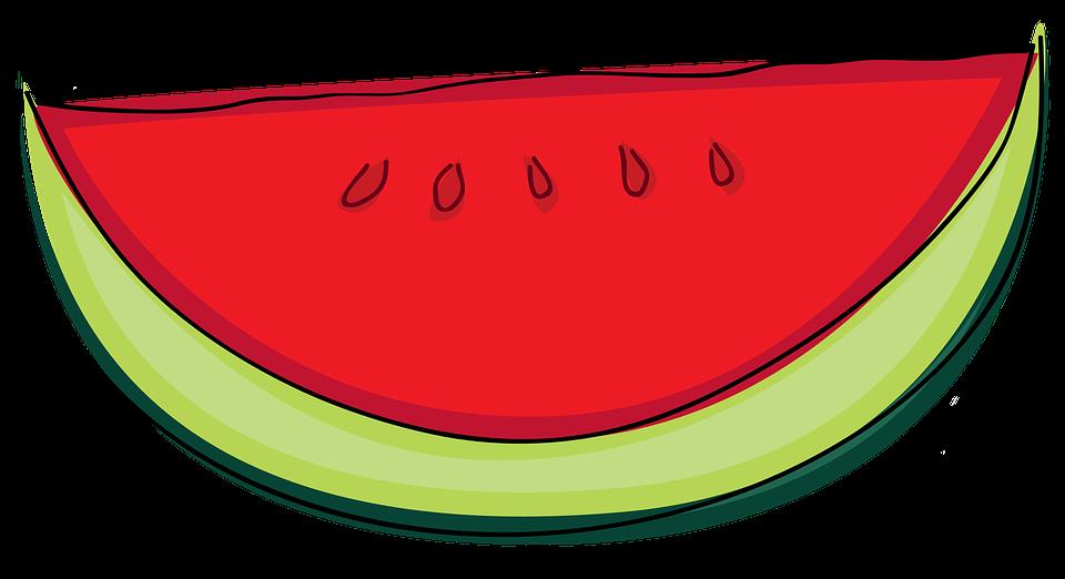 Ilustración Gratis: Sandía, Planta, Frutas, Fresco