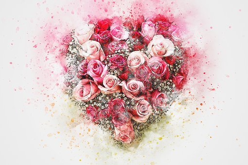 Flower hearts design images pixabay download free pictures flowers roses bouquet art abstract mightylinksfo